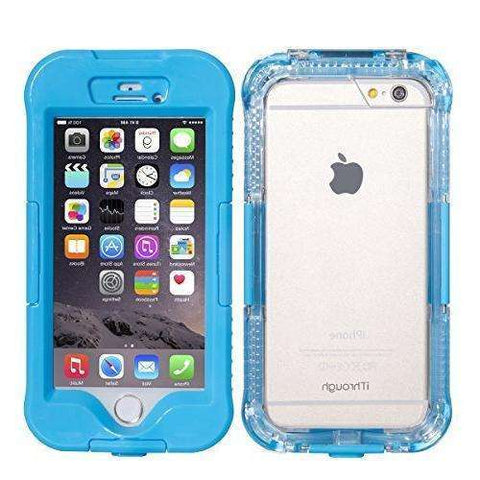 iPhone 6S Plus Waterproof IP-68 Case (Blue)