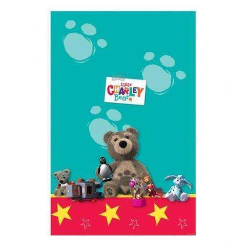Little Charley Bear Plastic Table Cloth
