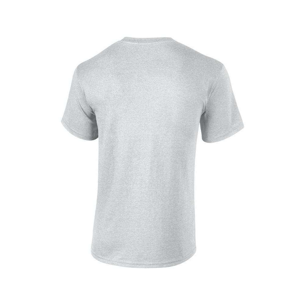 Men's Grey Marl Heavy Cotton T Shirt