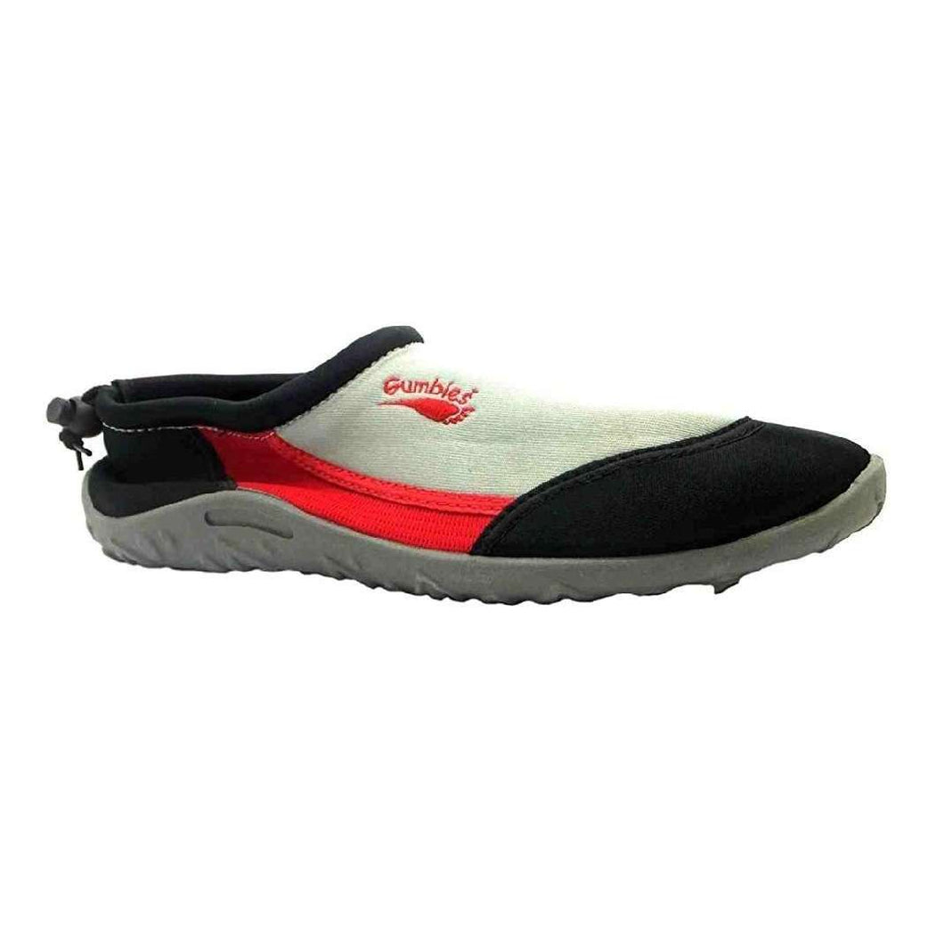Men's Ocean Gumbies Aquashoe Red And Grey Water Shoes