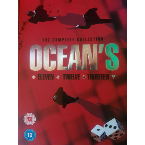 Ocean's Boxset 11, 12 &13 + Real Life Heists DVD (PREOWNED) (12)