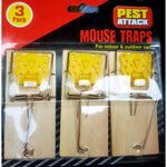 Pest Attack Mouse Traps 3 Pack