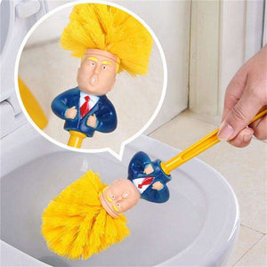 Donald Trump Toilet Cleaning Brush with Base