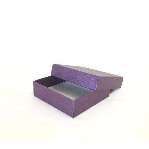 Small Purple Gift Box For Jewellery Etc.