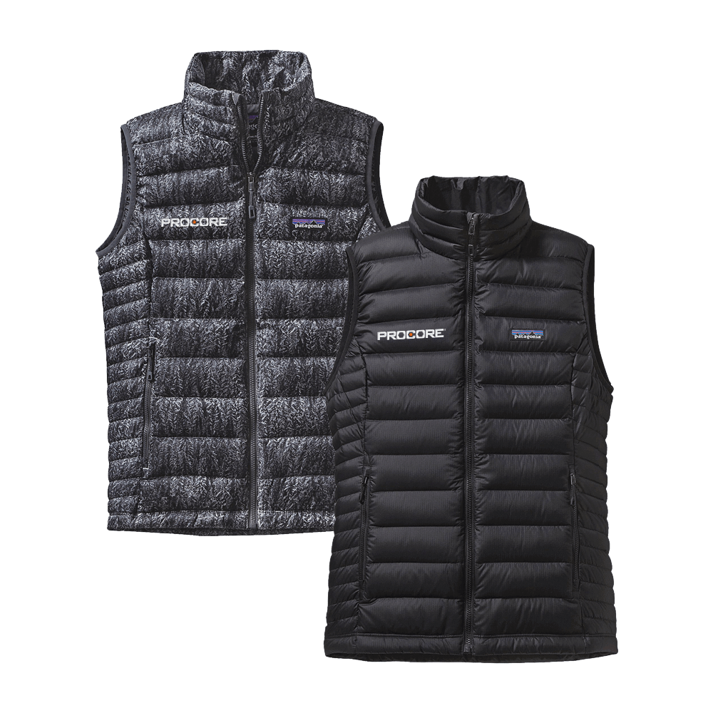 Patagonia Sweater Vest-Black & Gray