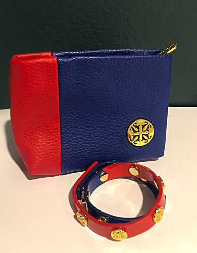 Women's LA Tech Rustic Cuff & Clutch Set