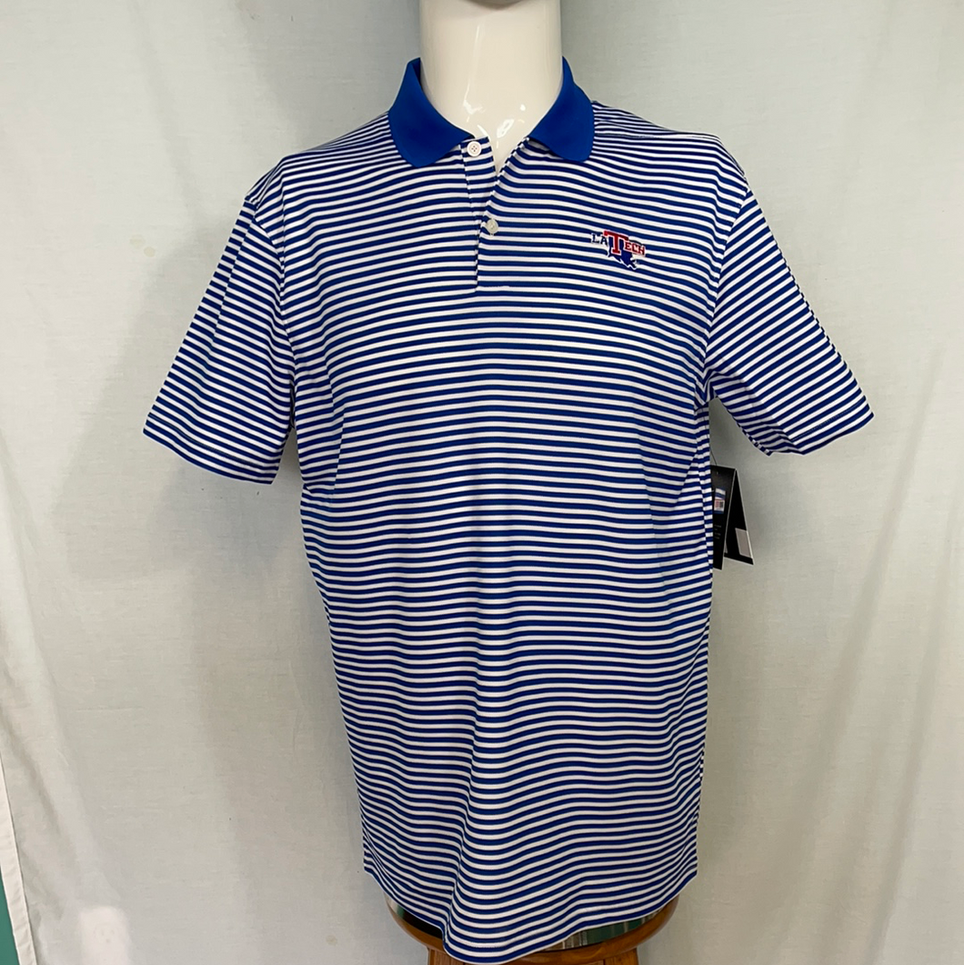 Men's Royal Victory Stripe Polo