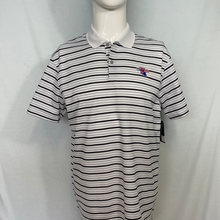 Men's Sky Grey Victory Stripe Polo