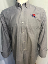 Mens LA Tech Light Blue Oxford blue long sleeve shirt