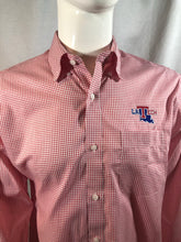 "Mens LA Tech ""Red Tattersall"" Button Up Shirt"