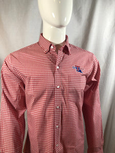 "Mens LA Tech ""League Gingham"" Button Up Shirt"