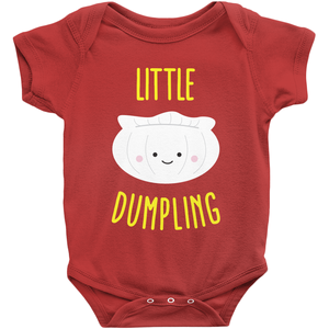 Little Dumpling Baby Onesie By Lillian Lee