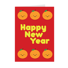 Lucky Oranges Chinese New Year Cards By Lillian Lee (Set of 10)