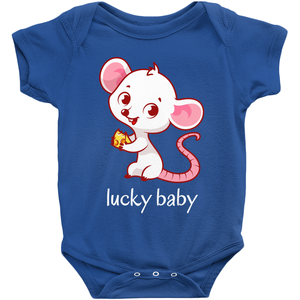 2020 Year Of The Rat Baby Onesie