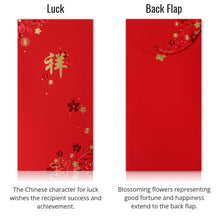 Premium Chinese Red Envelopes - 3 Design Collection (Set of 9)
