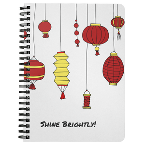 Shine Brightly! Spiral Notebook