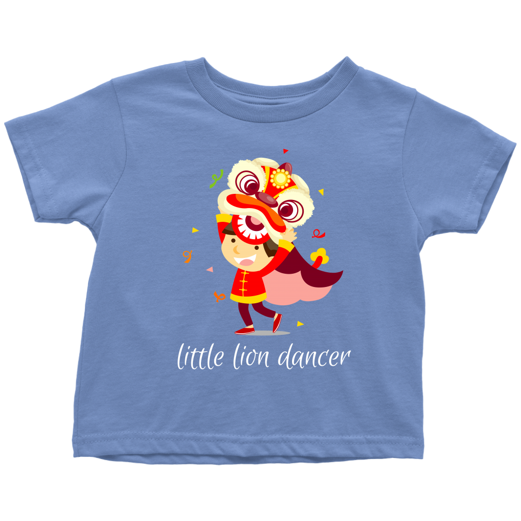 Little Lion Dancer Toddler T-Shirt