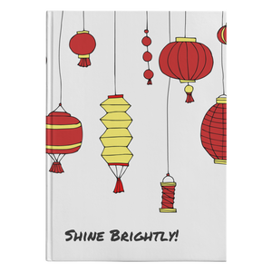 Shine Brightly! Hardcover Journal