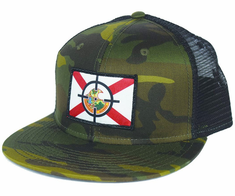 BAMF Cracker Snapback - Camo/Black