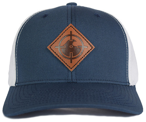 River Rat Snapback - Navy/White