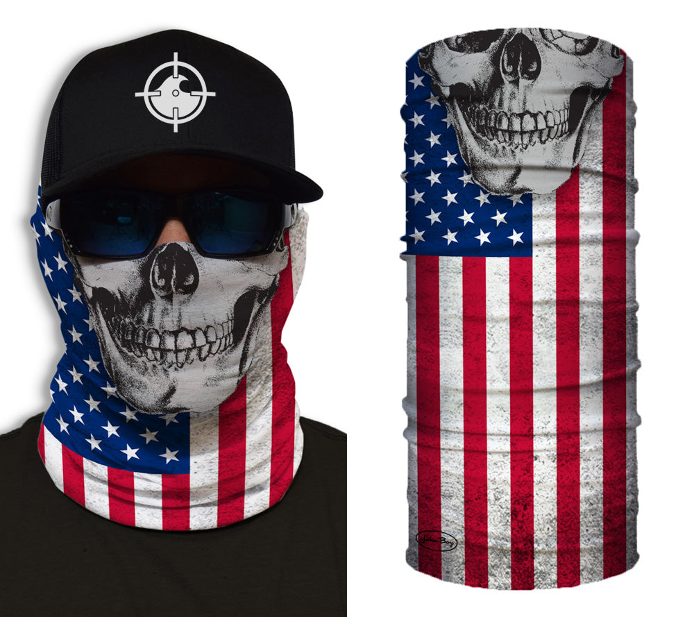Patriot Skull Shredneck