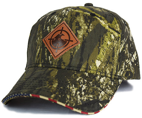 Uncle Butch Snapback - Camo / Orange