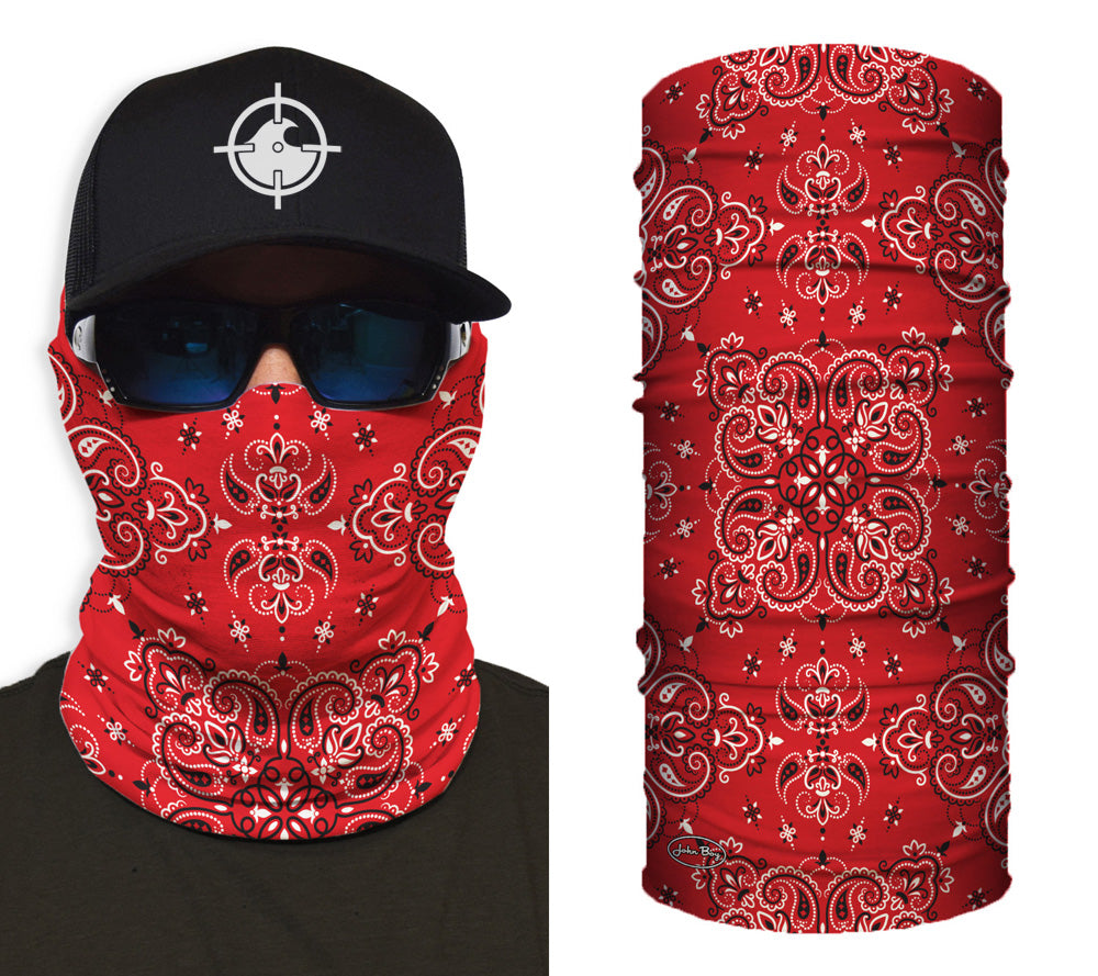 Red Paisley Shredneck