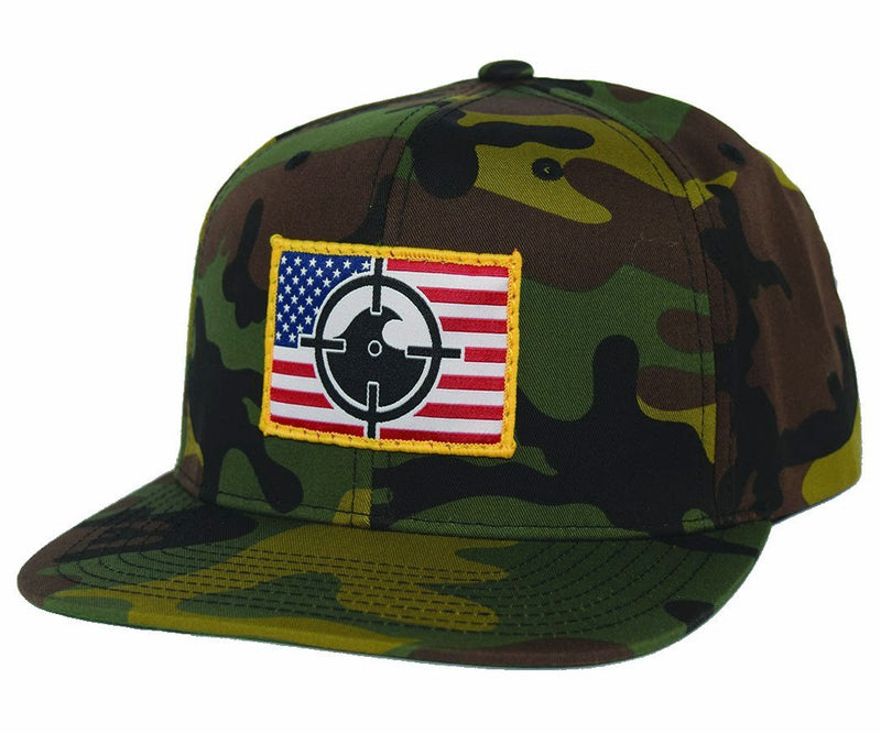 River Rat Snapback - Olive/Tan