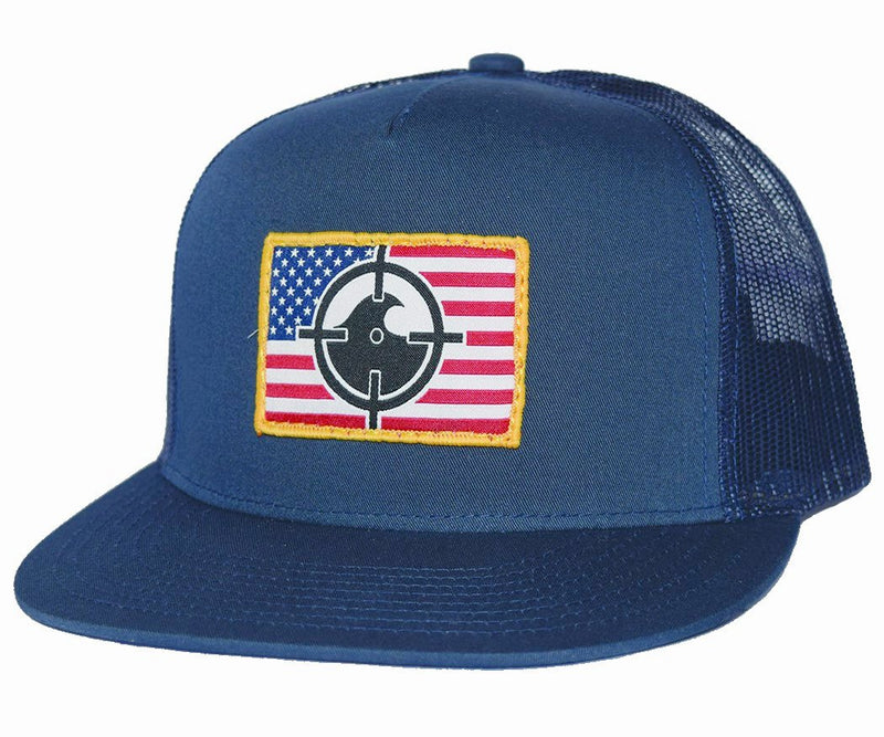 FL Cracker Snapback - Navy/White