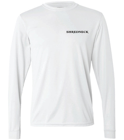 The Grizz Performance LS T - White