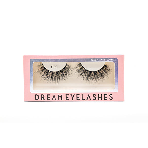 DL2 Mink Eyelashes - Dream Eyelashes