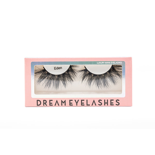 Eden Mink Eyelashes - Dream Eyelashes UK