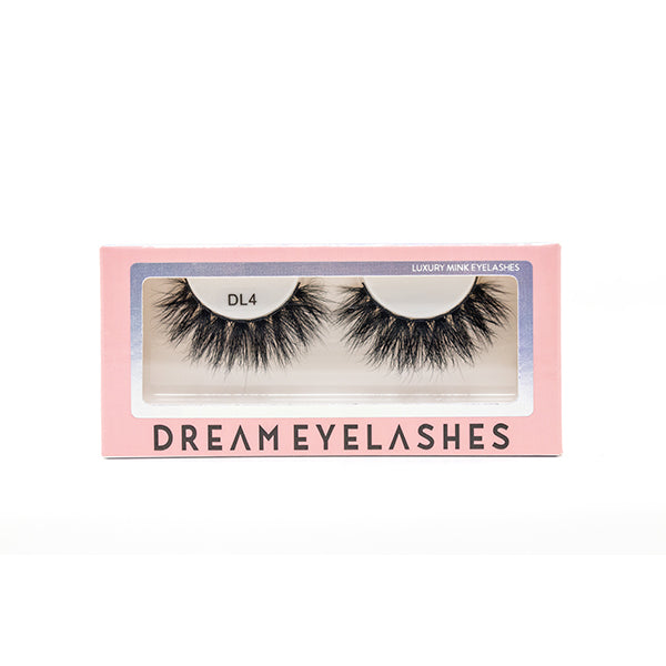 DL4 Mink Eyelashes - Dream Eyelashes