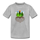 """Tree Love"" Kids' Premium T-Shirt - heather gray"