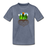 """Tree Love"" Kids' Premium T-Shirt - heather blue"