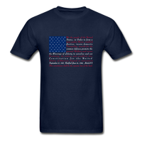 """Constitution Flag"" Ultra Cotton Men's T-Shirt - navy"