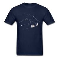 """Reach For The Stars"" Ultra Cotton Men's T-Shirt - navy"