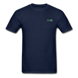 """United We Stand"" Ultra Cotton Men's T-Shirt (Front & Back) - navy"