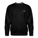 """United We Stand"" Men's Premium Sweatshirt (Front & Back) - black"