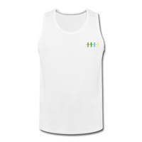 """United We Stand"" Men's Premium Tank - white"