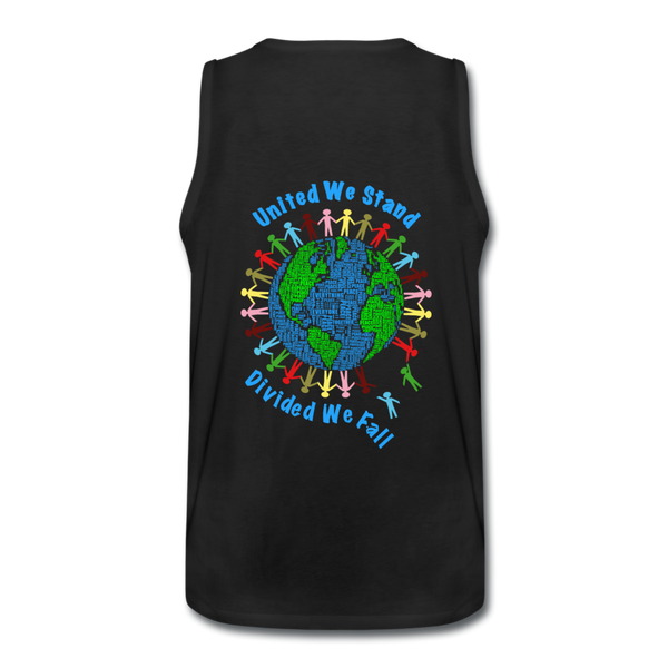 """United We Stand"" Men's Premium Tank - black"