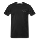 """URUBU""™ Men's Premium Organic T-Shirt (Front & Back) - black"