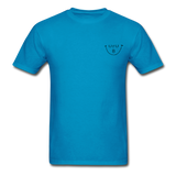 """URUBU""™ Ultra Cotton Men's T-Shirt (Front & Back) - turquoise"