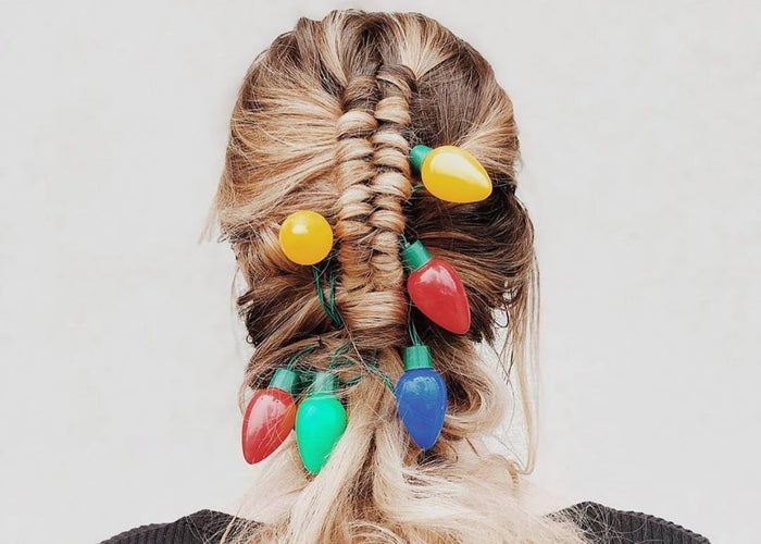 Deck Your Hair with These 12 Holiday Hairstyles