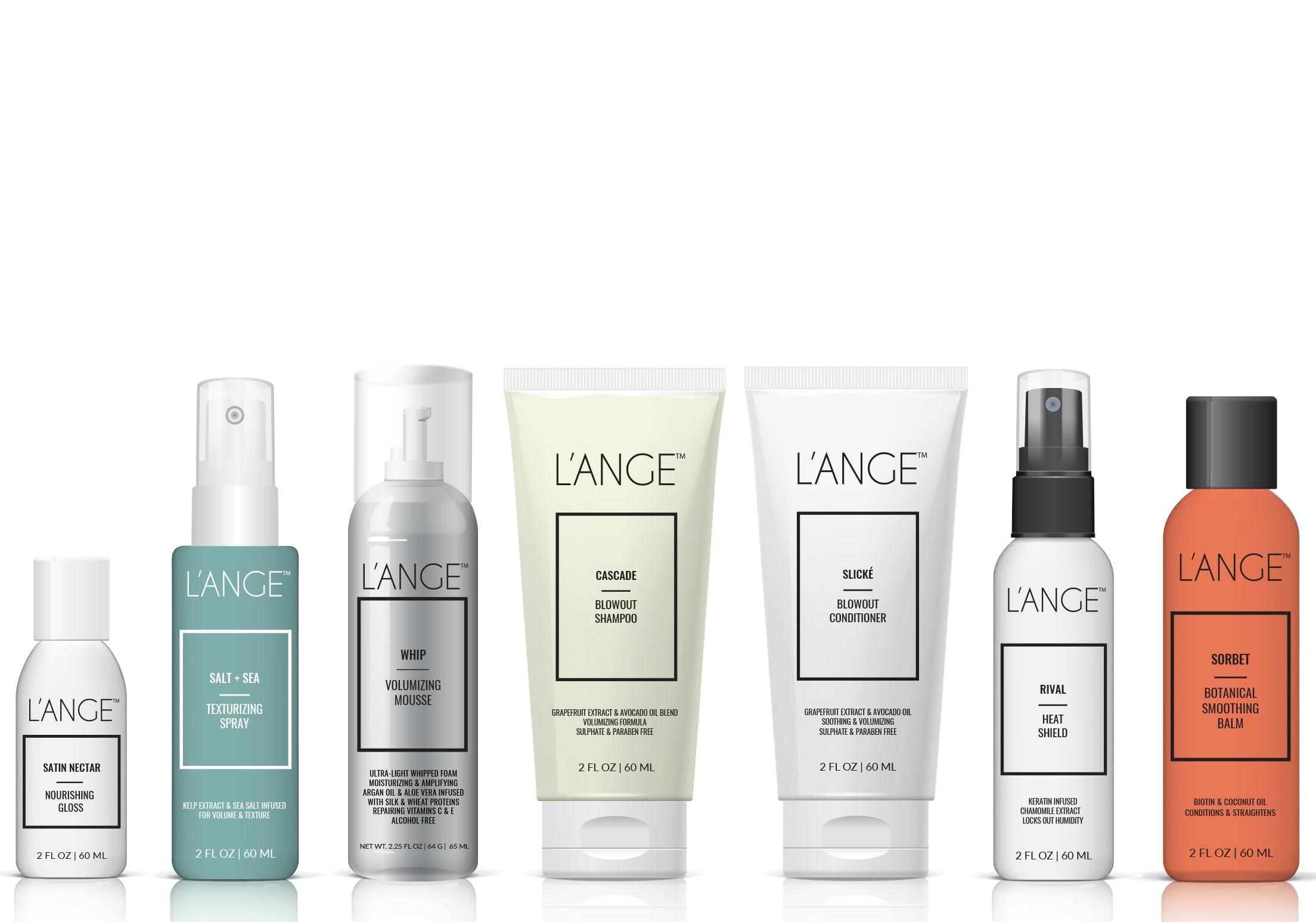 L'ange Hair Care Travel Bundle