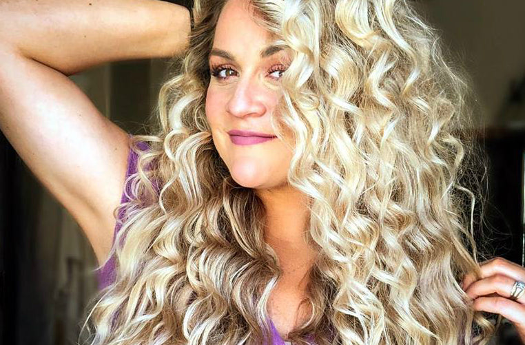 How To Use A Bubble Curling Wand L Ange Hair