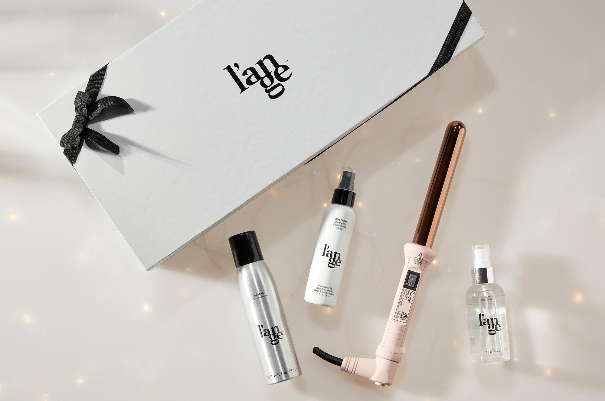 l'ange holiday gift guide curling wand gift set