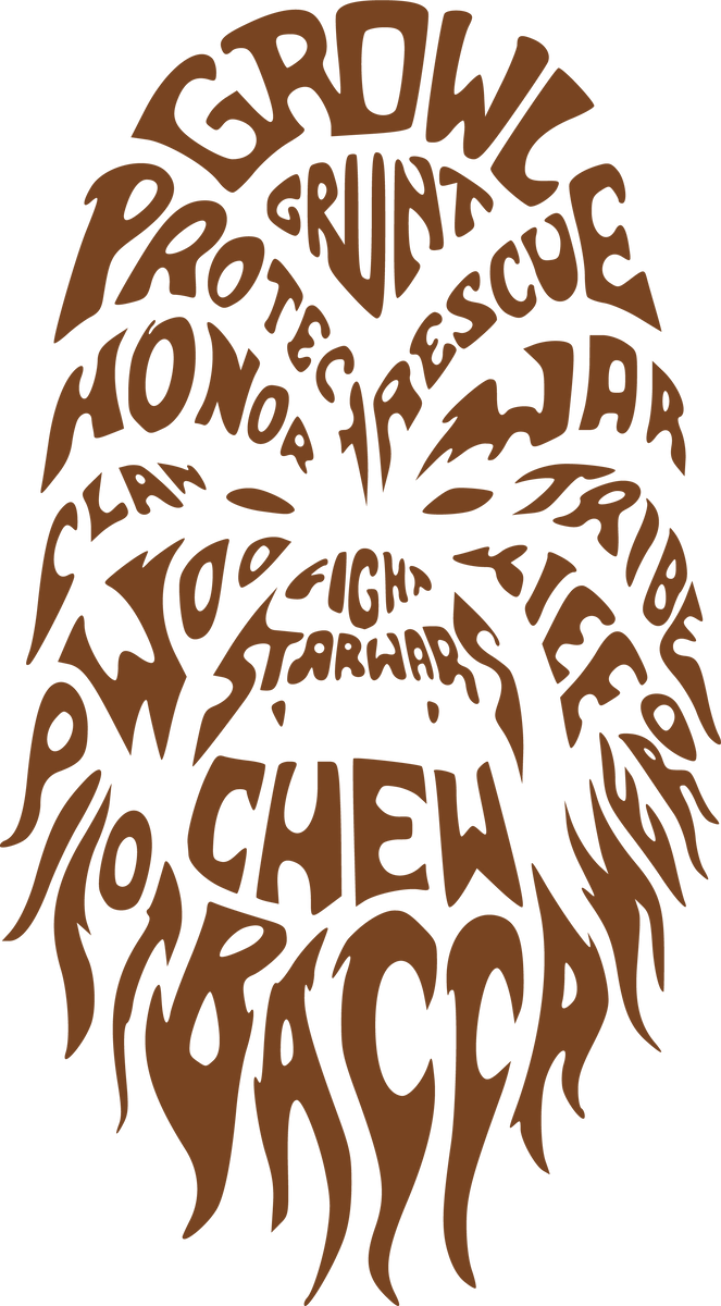 Chewbacca | Star Wars SVG DXF EPS PNG Cut File | Cricut ...
