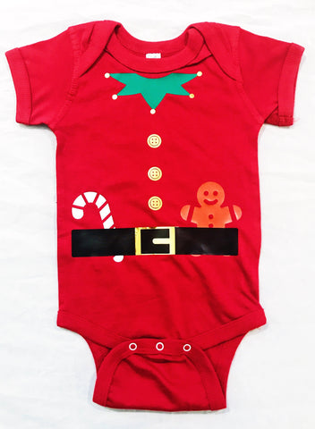 Elf Onesie | Holiday Costume | Toddler Clothes