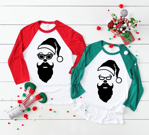 Cool Santa | Christmas SVG DXF EPS PNG Cut File | Cricut and Silhouette Machines